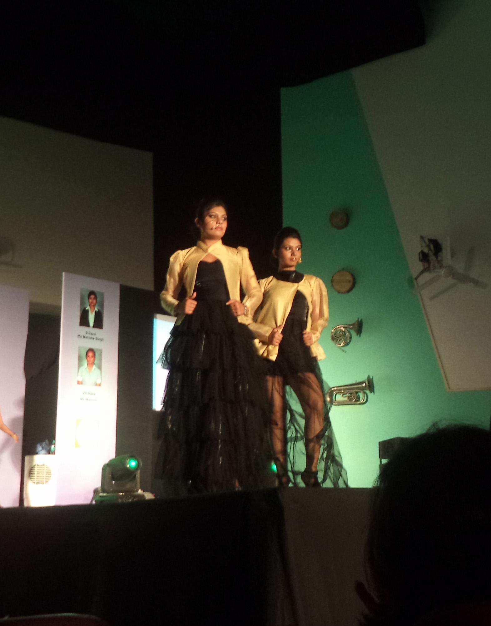 Runway Report Army Institute Of Fashion Design Glitterati Diaries